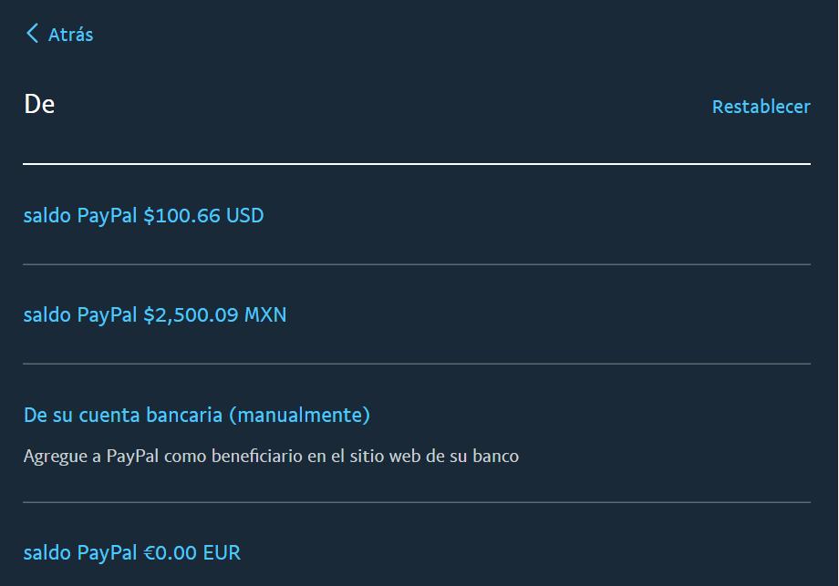 transferir pesos a banco