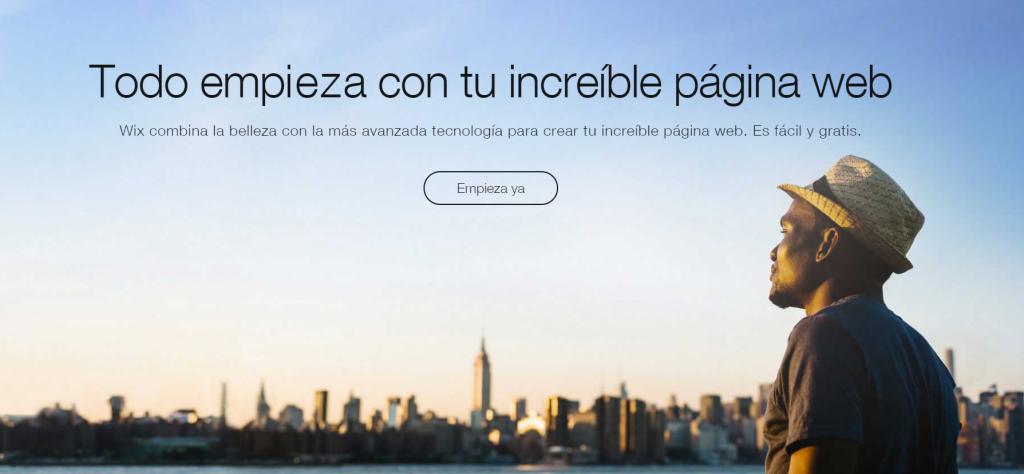 Crear un blog gratuito en wix