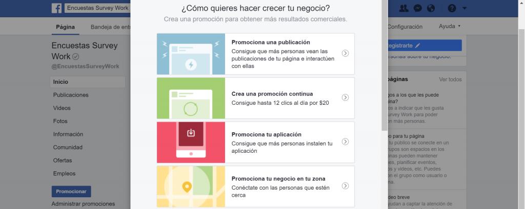 promocionar negocio en redes sociales