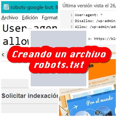 Crear un archivo robots.txt para posicionar un blog