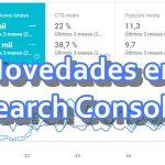 Novedades-search-console