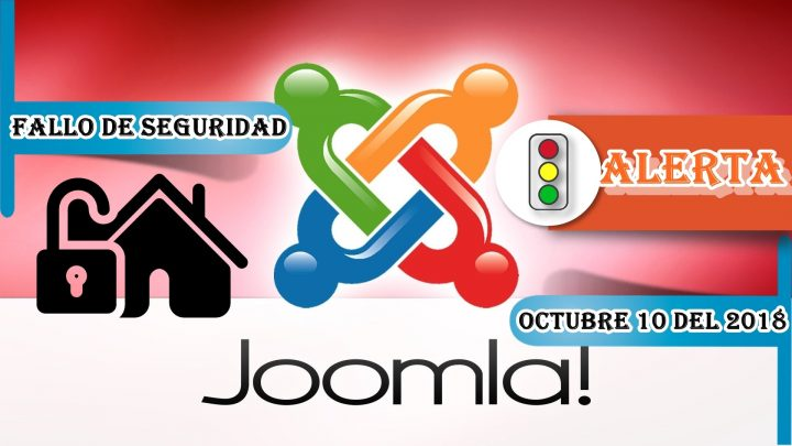 Actualización de seguridad en Joomla