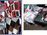Hacer mantas tejidas en el hogar
